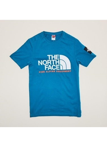The North Face M Ss Fine Alp Tee 2 Nf0A4M6Nefs1 Mavi